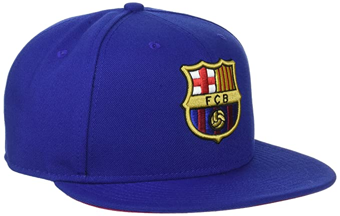 90bd2766f271 Nike Mens FCB Barcelona Soccer True Core Snapback Hat Deep Royal Blue Red  686241-