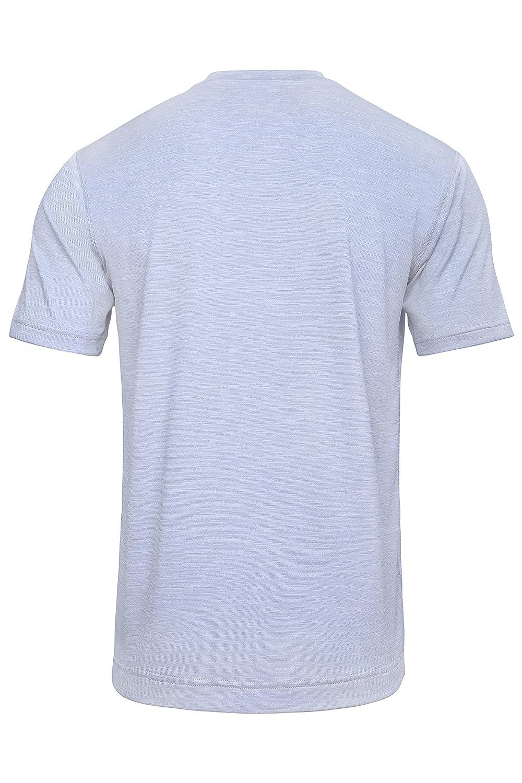 Sundried Camiseta Ecológica para Hombres para Deporte, Yoga y Gimnasio Fabricada Café y Botellas Recicladas