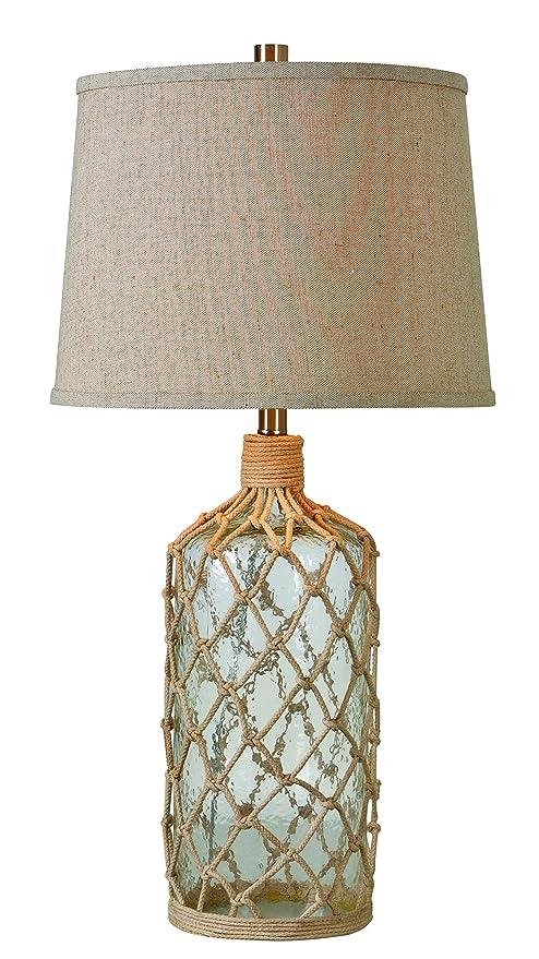 Amazon.com: kenroy Home 32816 Captain 1 luz lámpara de mesa ...