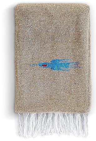 Manta mexicana - Manta de yoga artesanal Thunderbird grueso ...