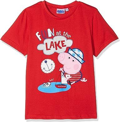 Peppa Pig Water Camiseta, Rosso, 8 Años para Niños: Amazon.es ...