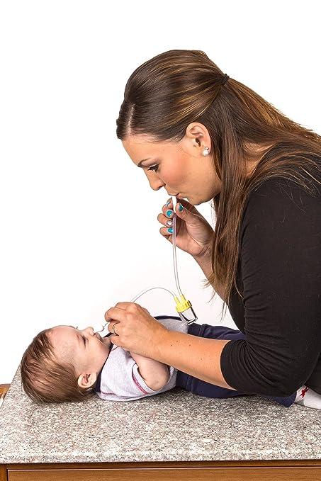 BabyBubz Baby Booger Remover - Nasal Aspirator, Hospital Grade, Lifetime Guarantee