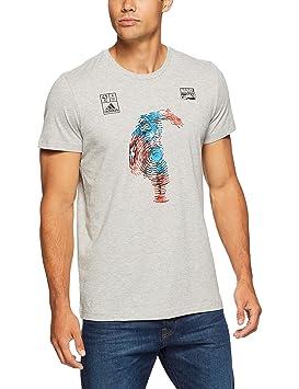 Adidas Marvel Captain America (Manga Corta Camiseta: Amazon.es: Deportes y aire libre