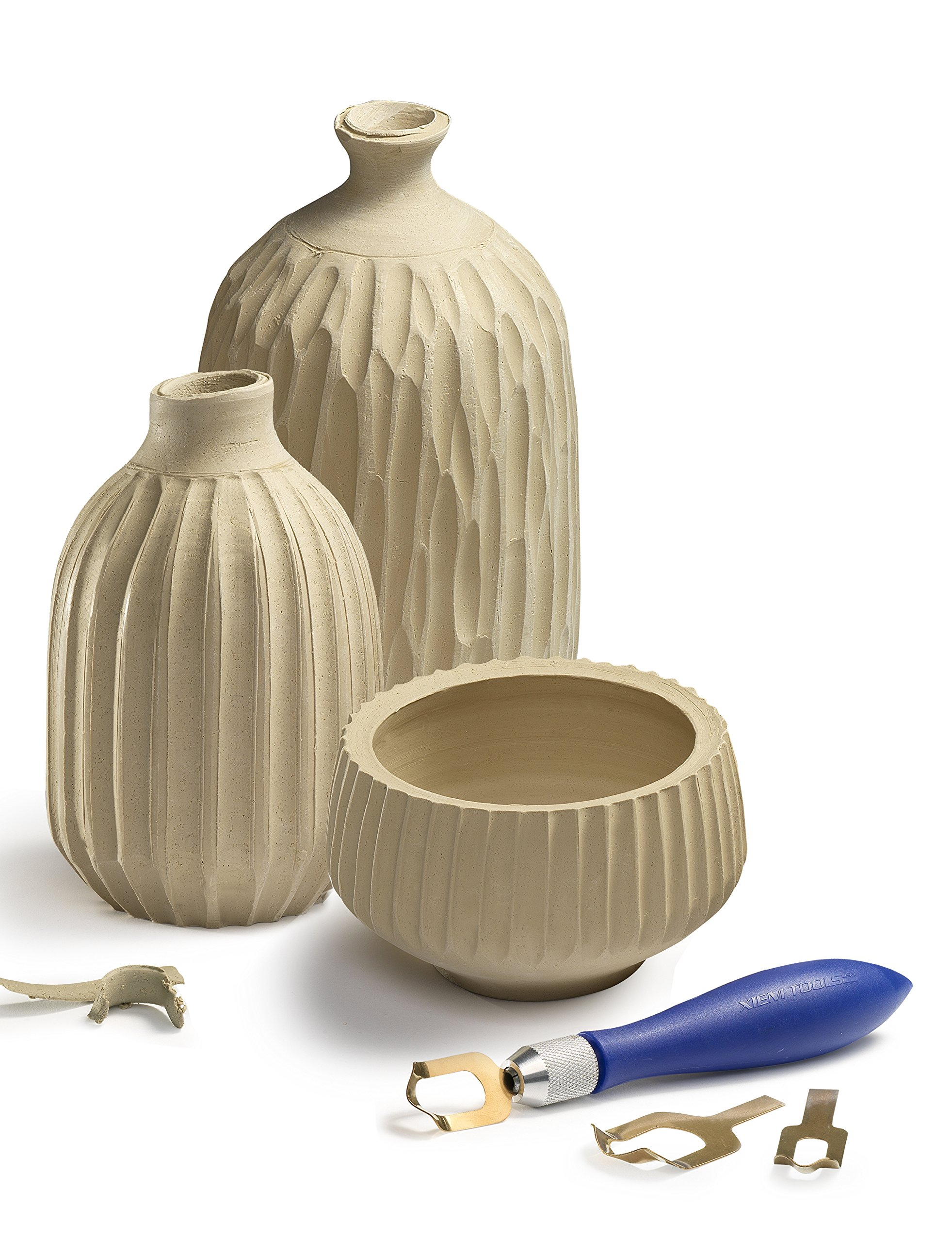 Xiem Tools USA Fluting Tool Set for Clay and Ceramics by XIEM (Image #1)