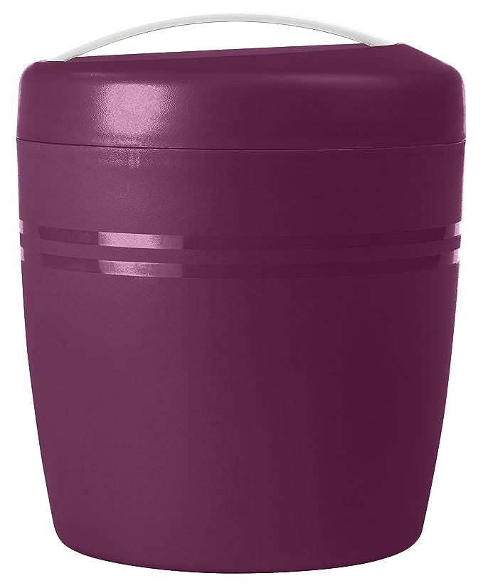 Carrefour 3609231894616 Alrededor Caja 1.5L Púrpura recipiente de almacenar comida - Recipiente para alimentos: Amazon.es: Hogar
