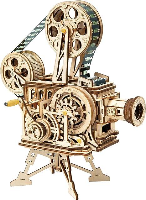 Amazon   ROBOTIME 3Dパズル プロジェクター 映写機 映画放映 フィルム ...