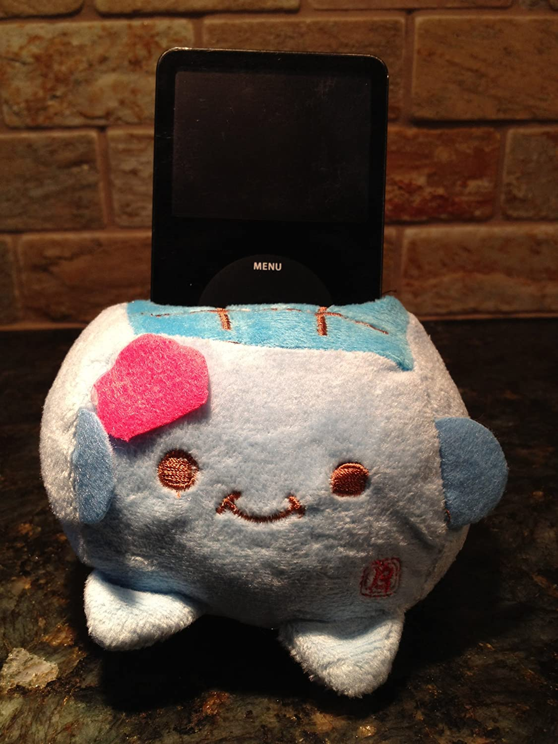 plush phone mount