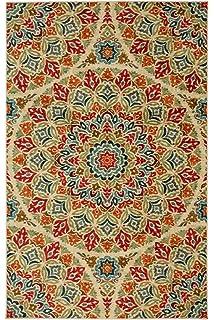 Mohawk Home Strata Jerada Floral Sphere Printed Area Rug, 5u0027x8u0027, Multicolor
