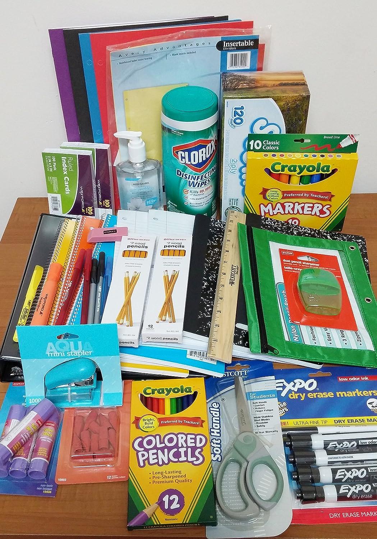 School Supply Bundle Middle School Grades 6-8 - from TDP