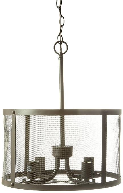 trans globe lighting 10224 rob 4 light pendant rubbed oil bronze