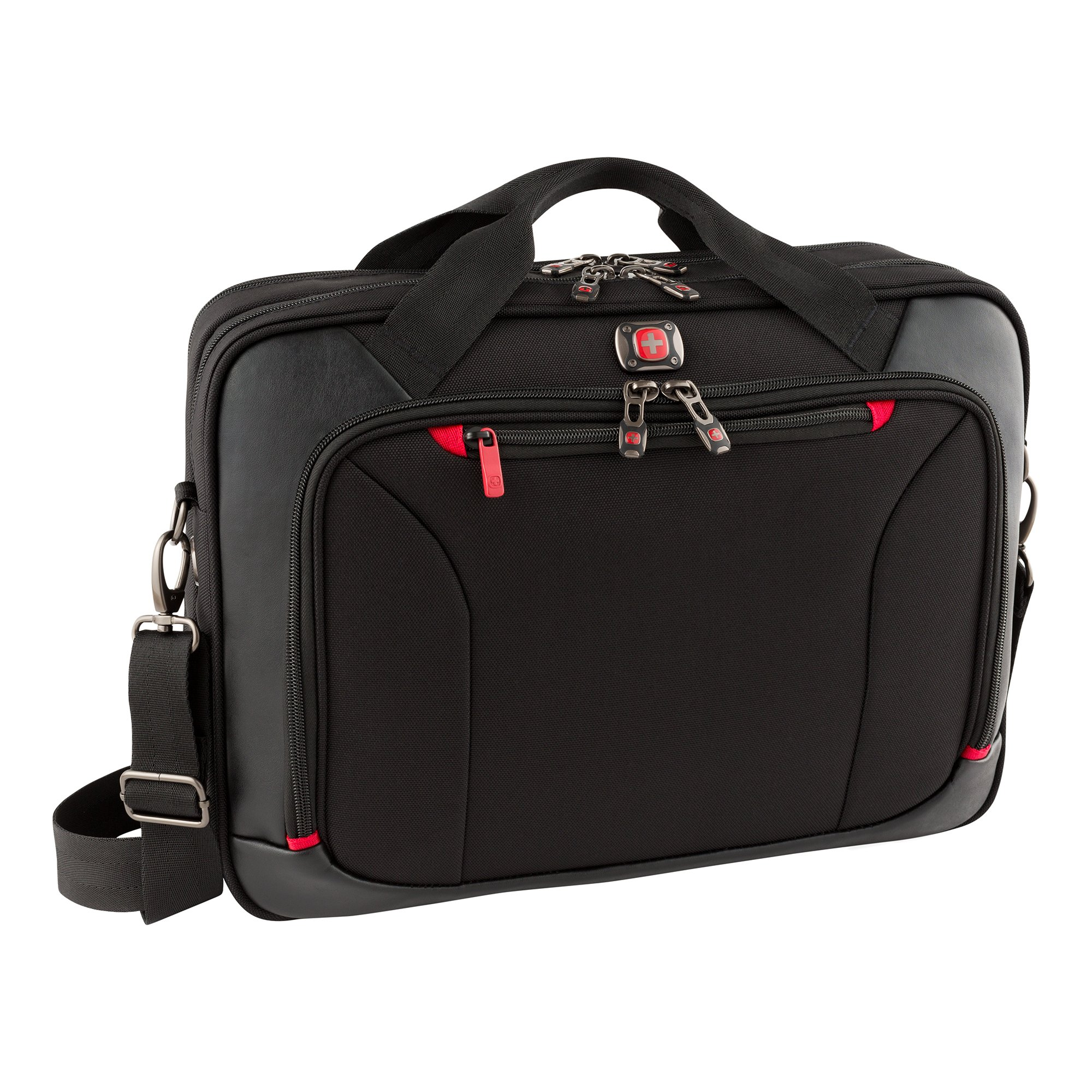 Victorinox Luggage Highwire Deluxe 28373001 High Wire 17'' Laptop Briefcase, Black, One Size