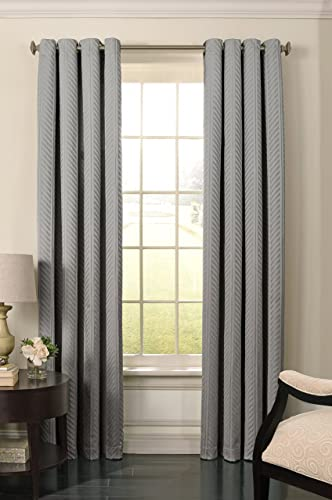 Cheap BEAUTYREST 52″ x 84″ Window Treatment Thermal Insulated Single Panel Grommet Top Darkening Curtains window curtain panel for sale