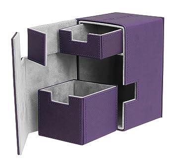 Ultimate Guard Flip´n´Tray Deck Case 100+ Caja de Cartas Tamaño Estándar XenoSkin Violeta