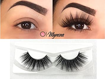 eaede585794 Amazon.com : Faux Mink Lashes 3D False Eyelashes Natural to Dramatic Look  Collection | Reusables | Handmade Vegan and Cruelty-Free | Premium Quality  ...