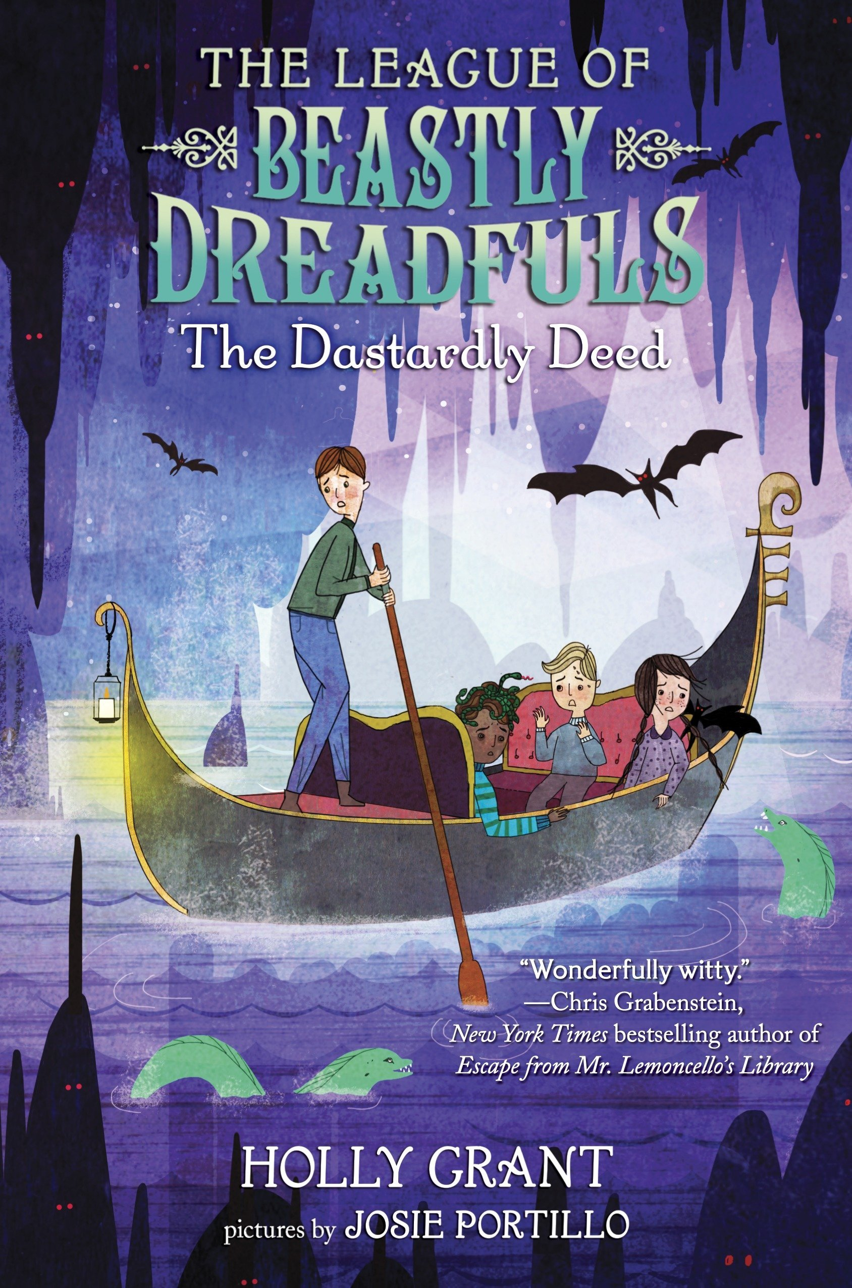 The League of Beastly Dreadfuls Book 2: The Dastardly Deed pdf