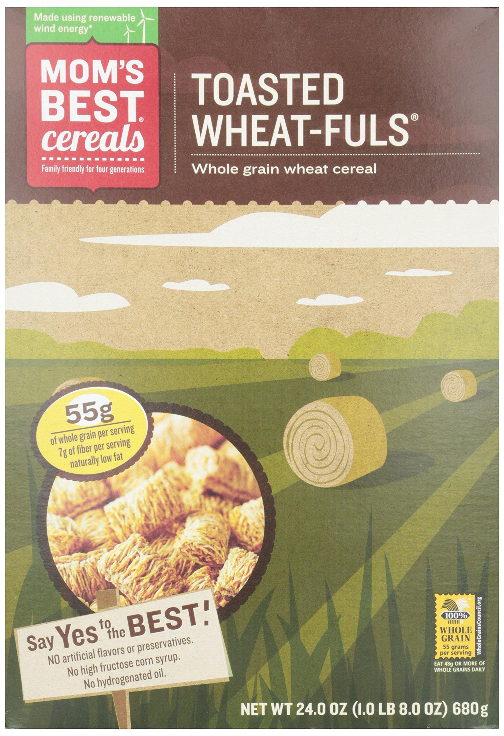 Mom's Best Toasted Wheatfuls, 24 oz