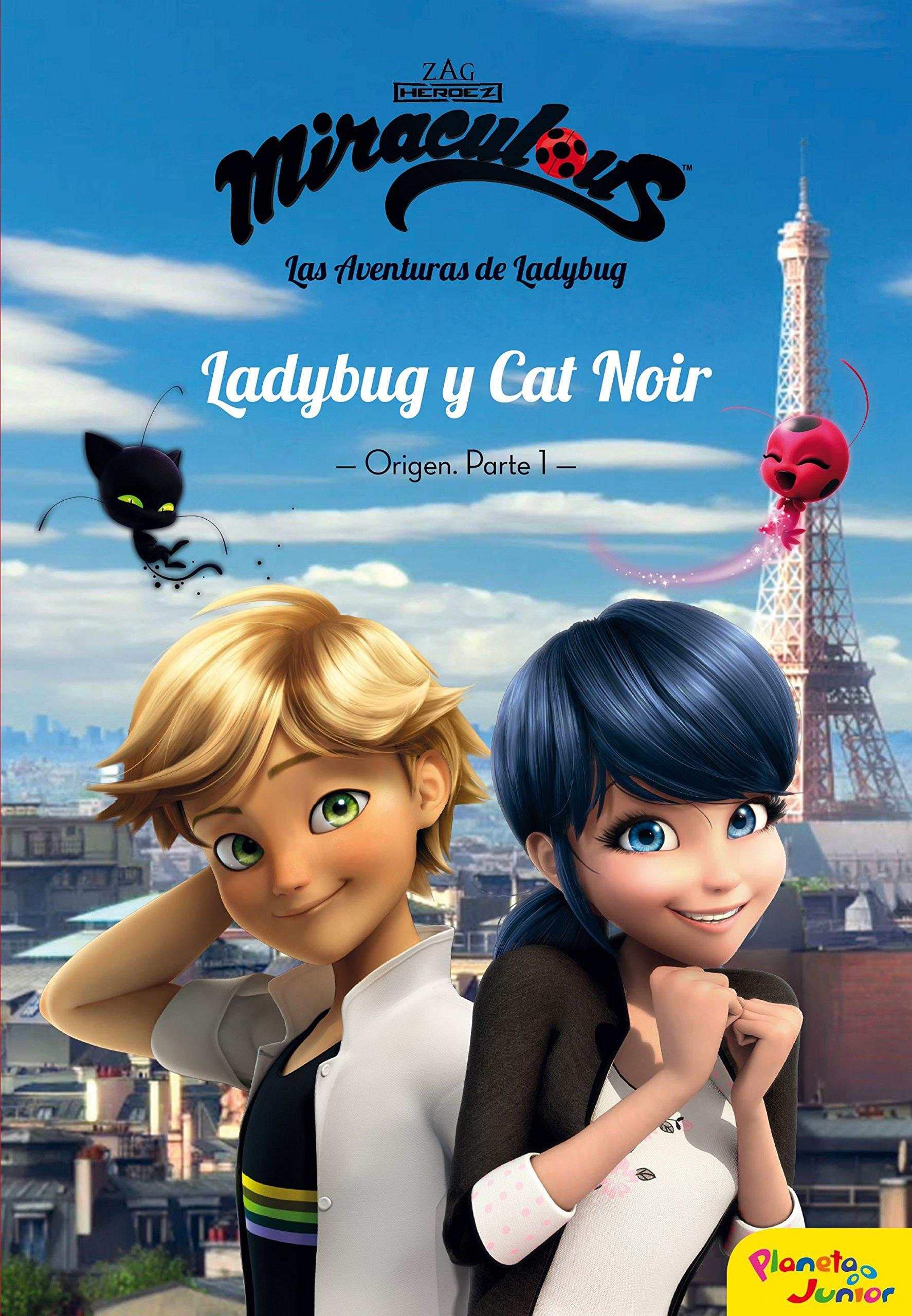 Miraculous Ladybug Y Cat Noir Origen 1 9788408181040 Amazon