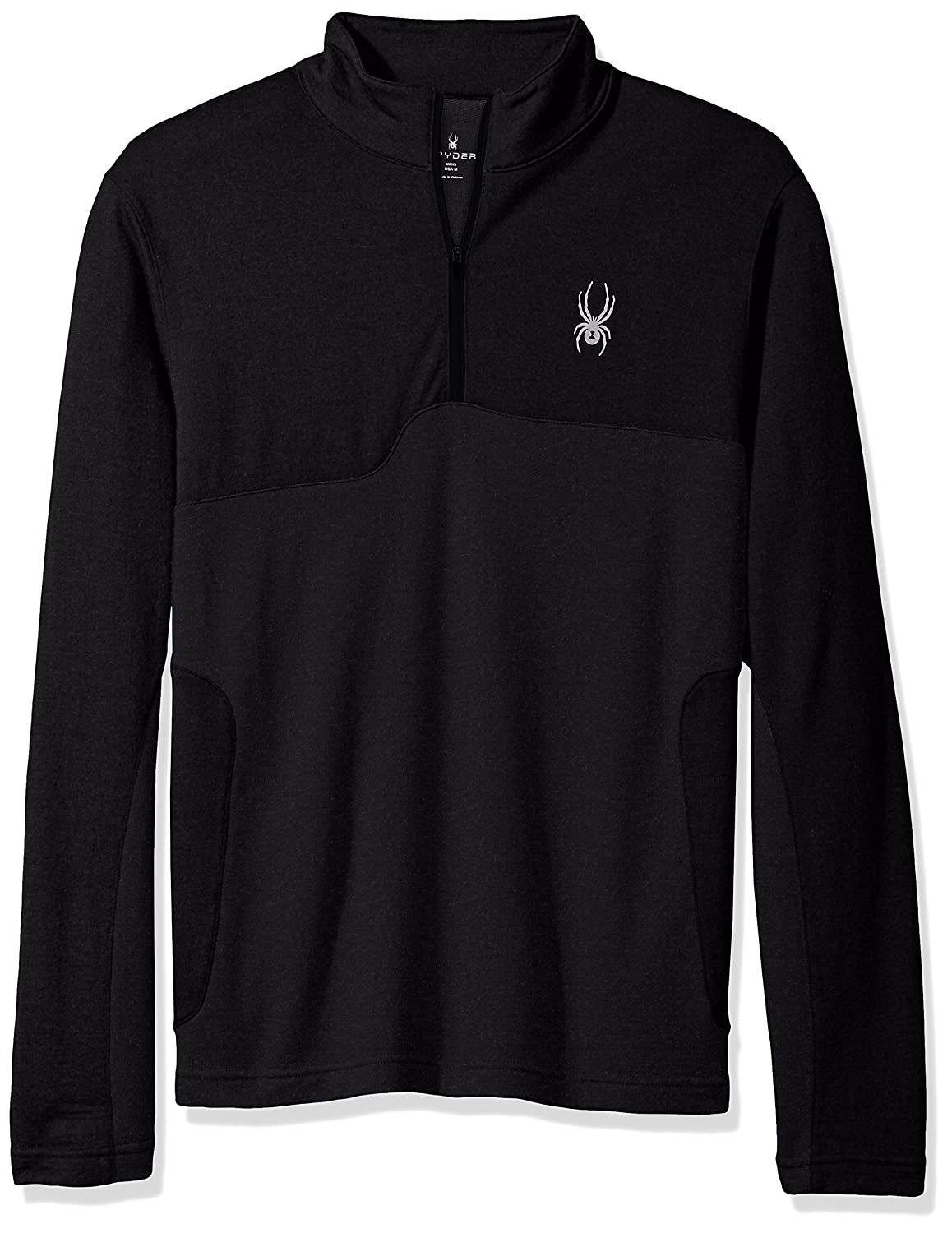 Spyder Herren Pinnacle Merino 1/4 Zip Baselayer Top