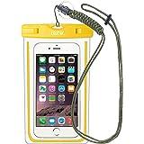EOTW IPX8 Wasserdichte Tasche, Wasser- und staubdichte Hülle für Geld, Datenträger und Smartphones bis 15,24 cm (6 Zoll), Ideal für den Strand, Wassersport, fürs Radfahren, Angeln, usw.