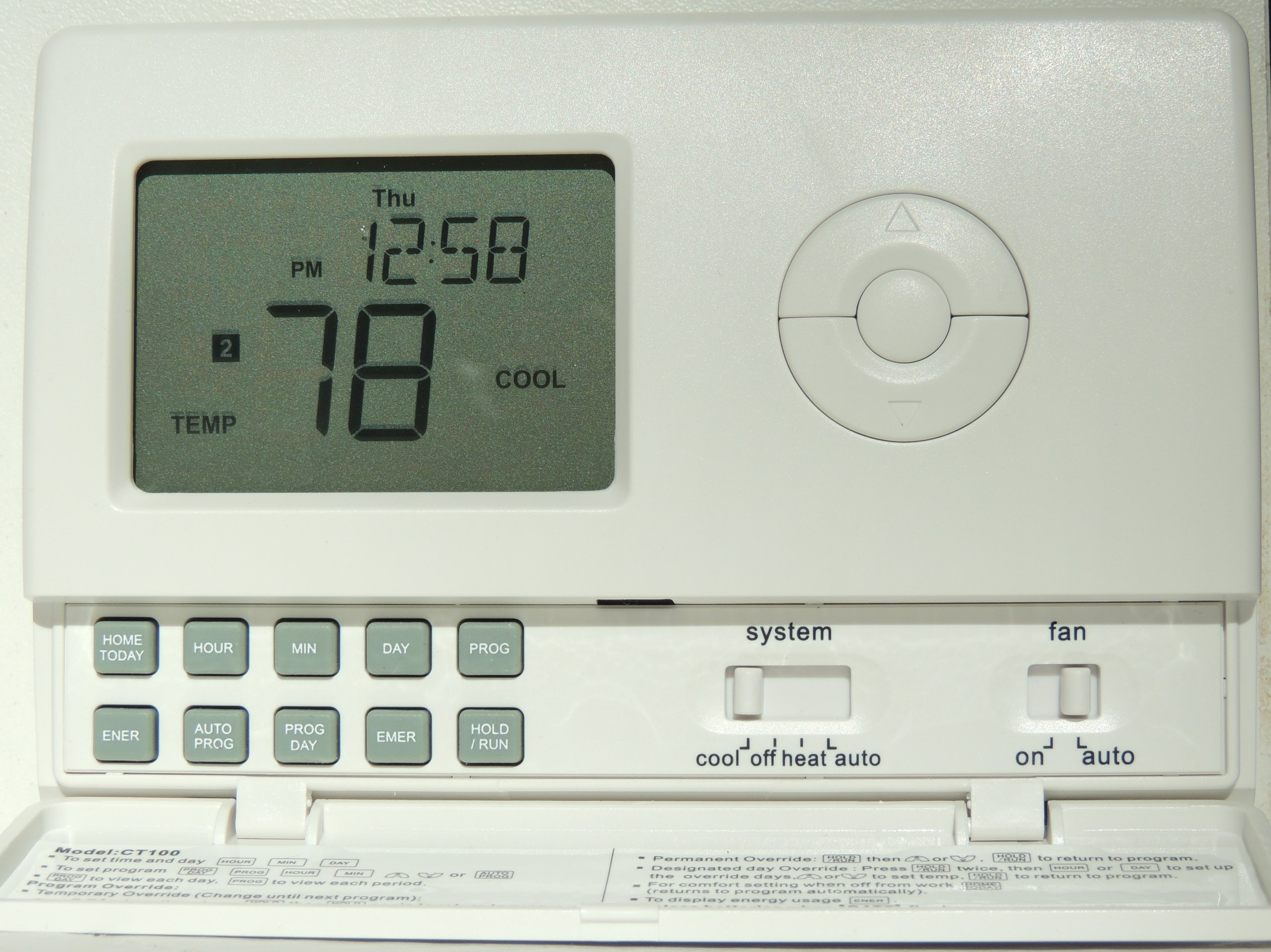ControlTemp CT100 Standard Tamper Proof Thermostat by ControlTemp Thermostats (Image #1)