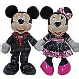 東京ディズニーリゾート限定 ミッキー&ミニー ぬいぐるみバッジ ビッグバンドビート おみやげ袋2枚付