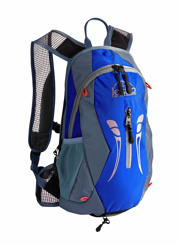 LESTRA - Zaino da ciclismo con sacco idrico, 10 + 3 litri, colore: Blu/Antracite SDHYPDV01Z000