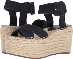 8c9fb2550 Amazon.com   Marc Fisher LTD Women's Vienna Espadrille Wedge Sandal ...