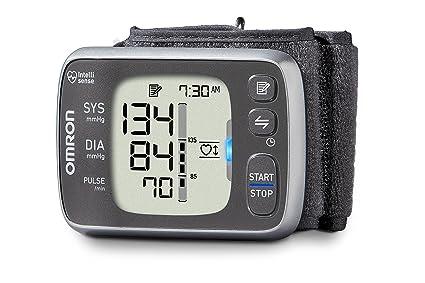 Omron 7 Series - Muñequera inalámbrica con monitor de presión arterial