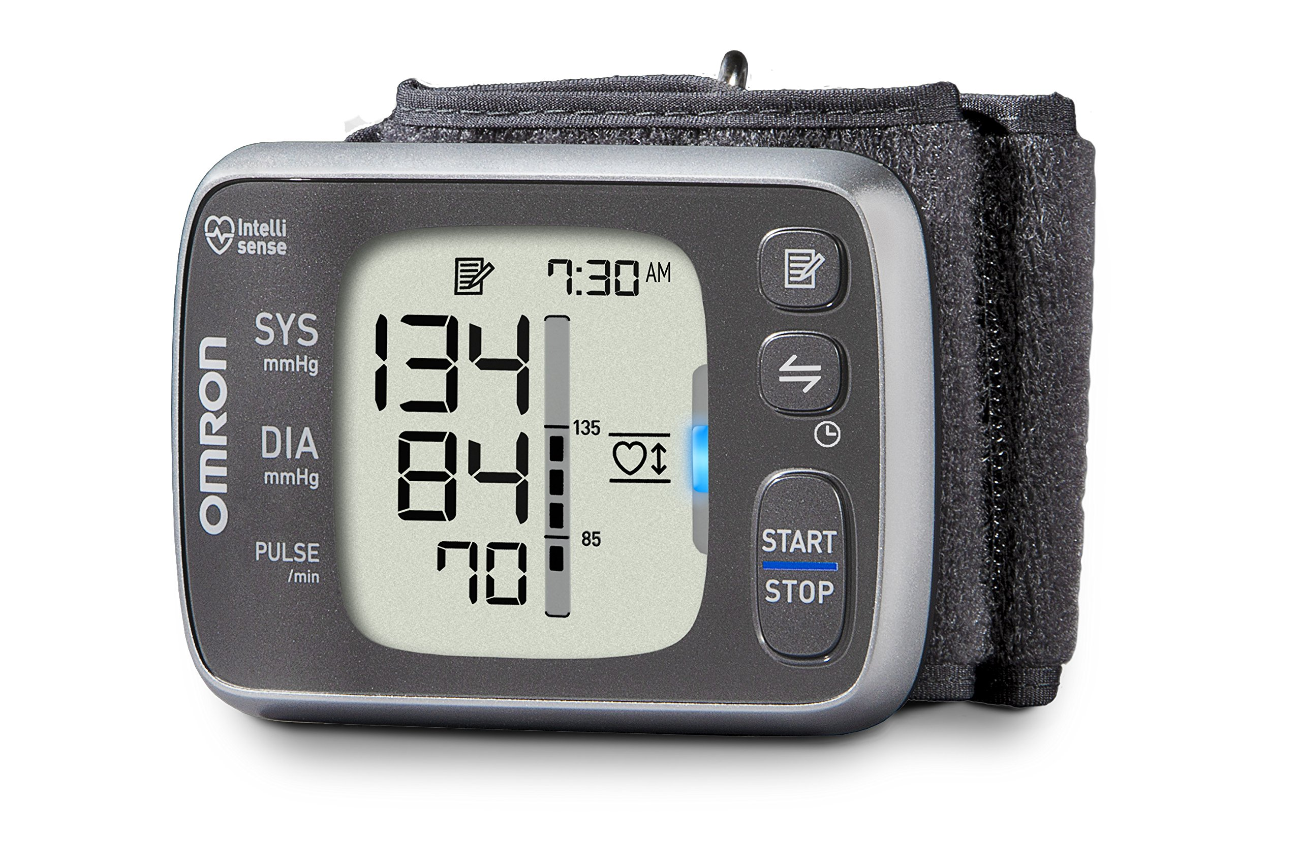 Omron 7 Series Bluetooth Wireless Wrist Blood Pressure Monitor (100 Reading Memory)- Compatible