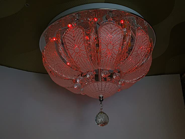 Multicolor,MP3,Bluetooth/USB Empowered Chandelier: Amazon.in: Home ...