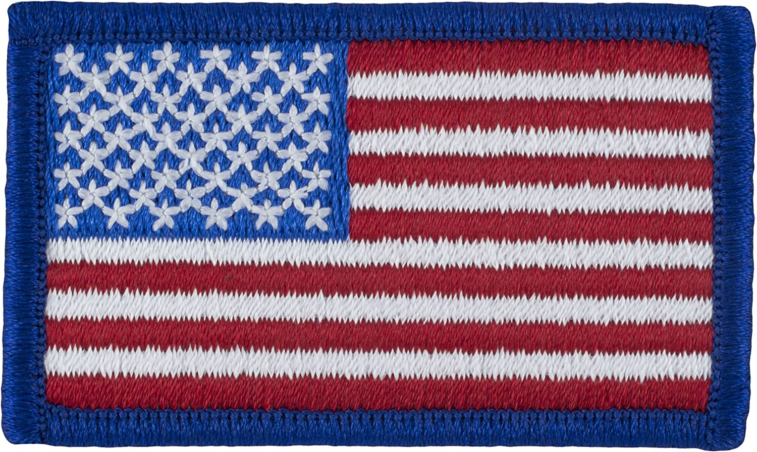Embroidered USA Sew on Glue on BADGE UNITED STATES Stars and Stripes Flag Patch