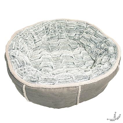 Rosewood Cama redonda y profunda 40, de peluche, 50,8 cm: Amazon.es: Productos para mascotas