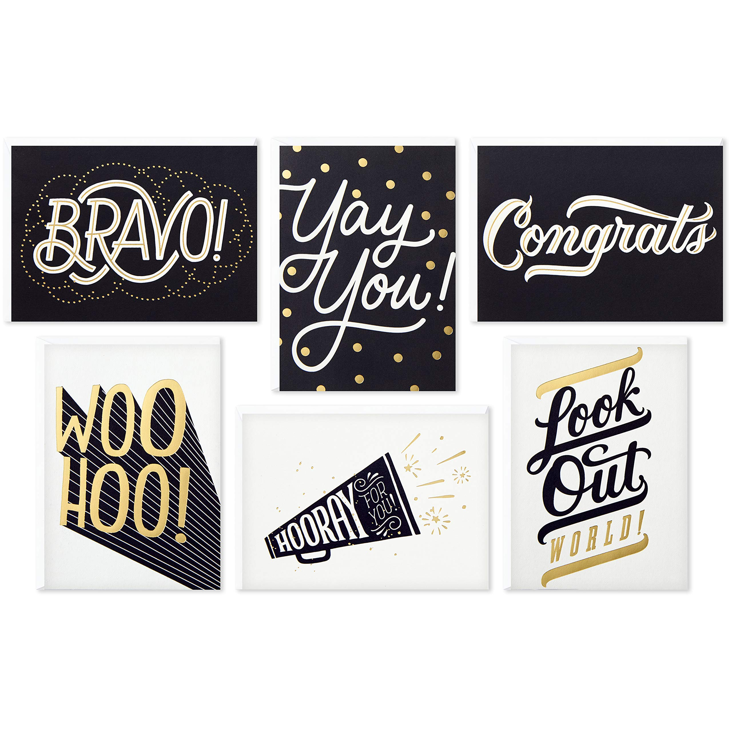 Hallmark Congratulations Cards Assortment (Boxed Set of 24 Cards with Envelopes)