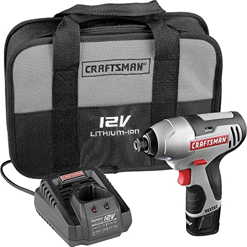 Craftsman Nextec 12.0 V Variable Speed 0-2200 RPM 1 4 Li-Ion