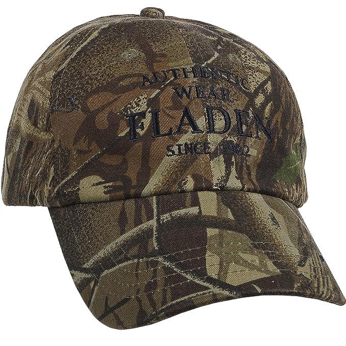 Fladen Pesca Authentic Wear 100% algodón camuflado Visera Gorra de béisbol - excelente Sol protección contra la Intemperie Mientras se Pesca [22-aw1833 C]: ...