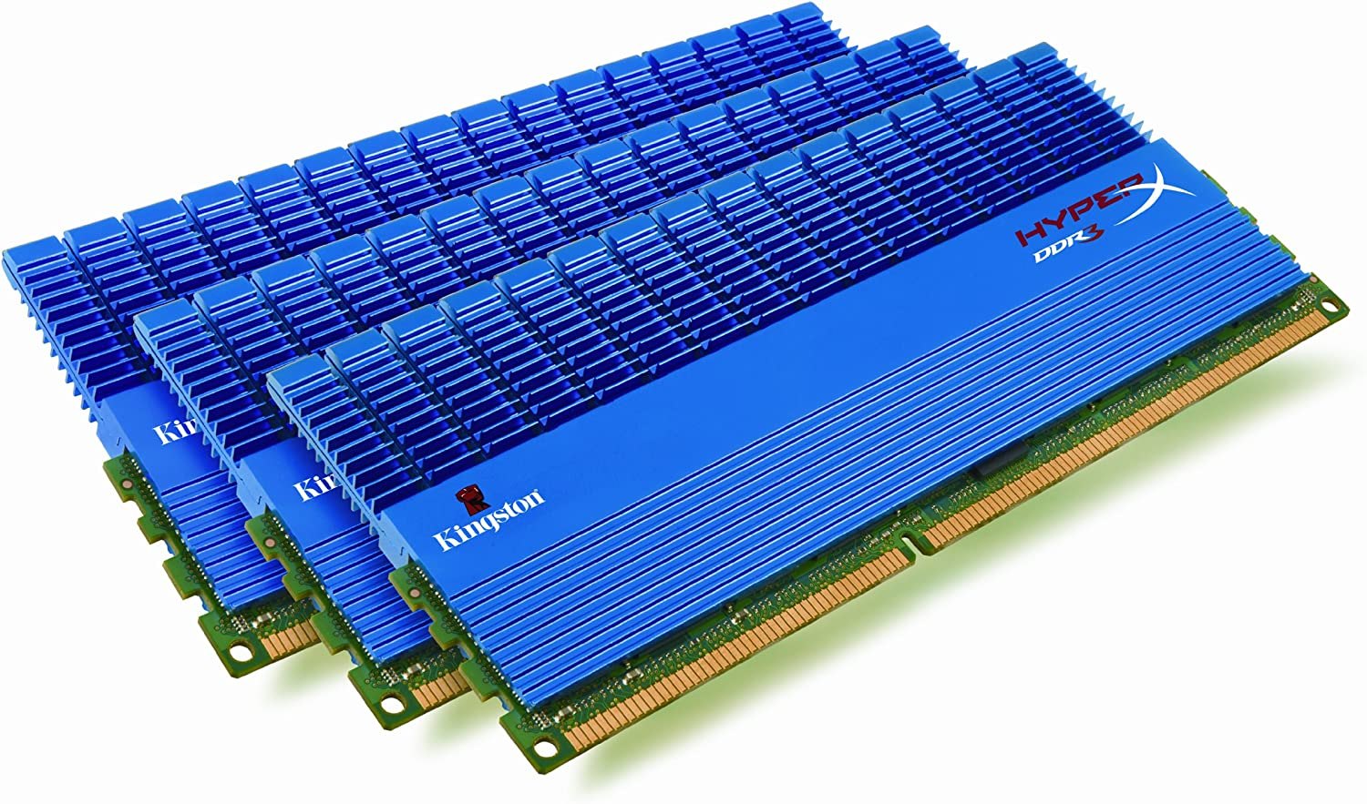 Kingston HyperX 6GB Kit (3x2GB Modules) 1600MHz DDR3 DIMM Desktop Memory ( KHX1600C9D3T1K3/6GX): Amazon.ca: Electronics