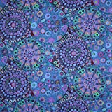 Kaffe Fassett Millefiore Blue Fabric By The Yard