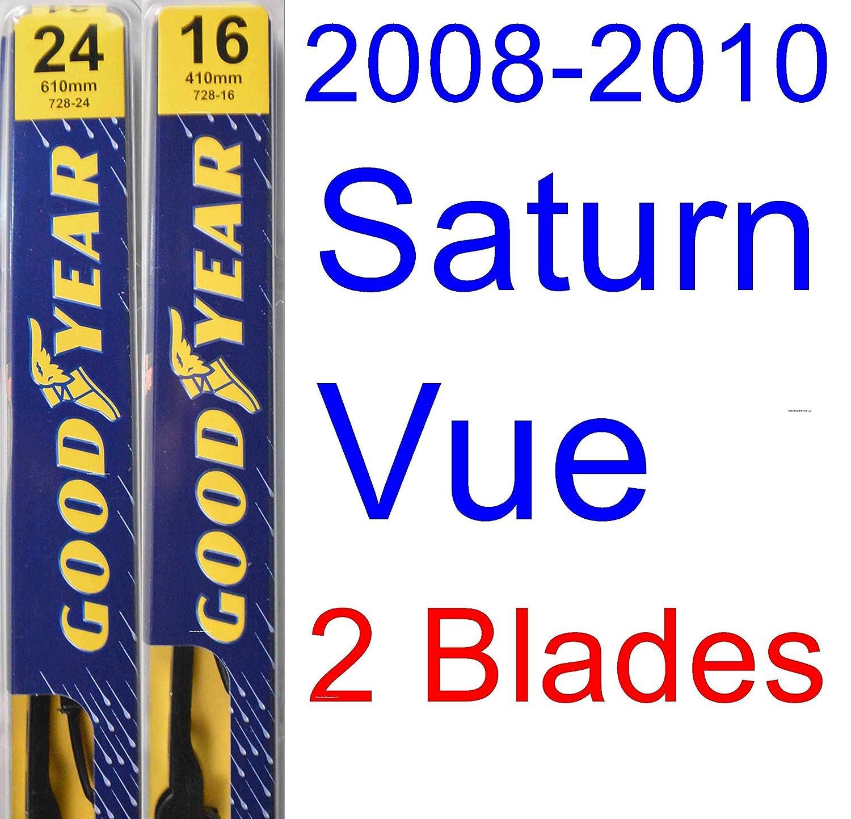 Amazon.com: 2008-2010 Saturn Vue Replacement Wiper Blade Set/Kit (Set of 3 Blades) (Goodyear Wiper Blades-Premium) (2009): Automotive