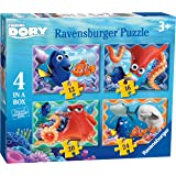 Ravensburger 7399 Disney Finding Dory 4 in a Box Jigsaw Puzzles - 12, 16, 20 and 24 Pieces