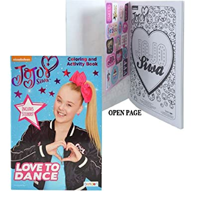 Jojo Siwa Activity Book with 2 Sheet Stickers: Toys & Games