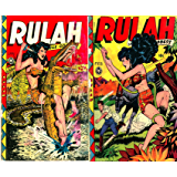 Rulah. Issues 22 and 23. Jungle Goddess. Golden Age Digital Comics Action and Adventure