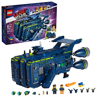 LEGO THE LEGO MOVIE 2 The Rexcelsior; 70839 Building Kit (1820 Pieces): Toys & Games