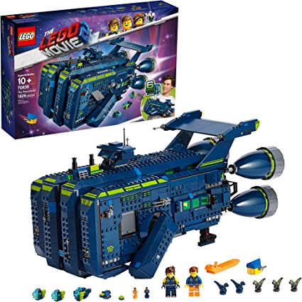 Amazon Com Lego The Lego Movie 2 The Rexcelsior 70839 Building Kit 1820 Pieces Toys Games