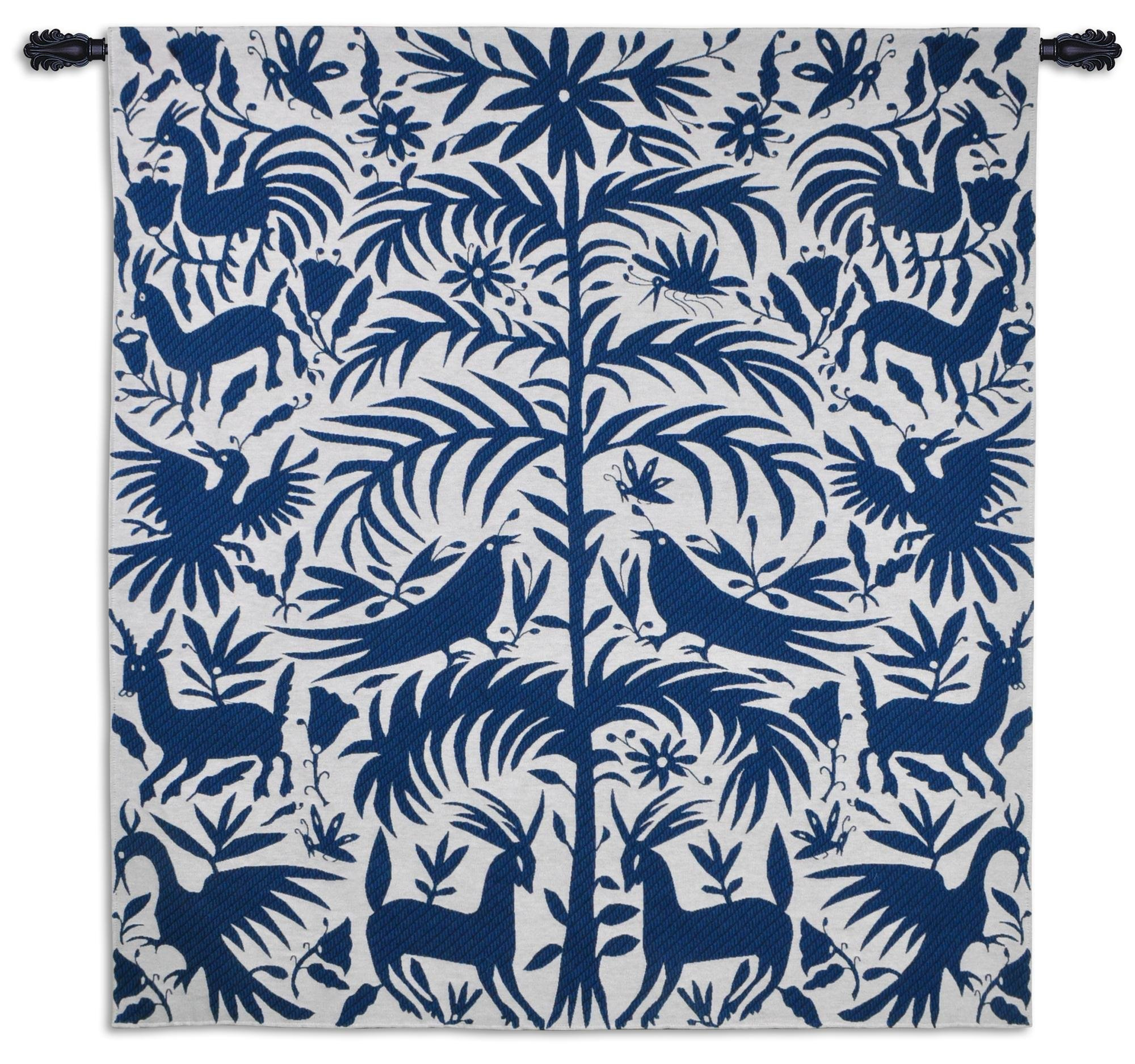 Fine Art Tapestries ''Otomi'' Wall Tapestry, Royal