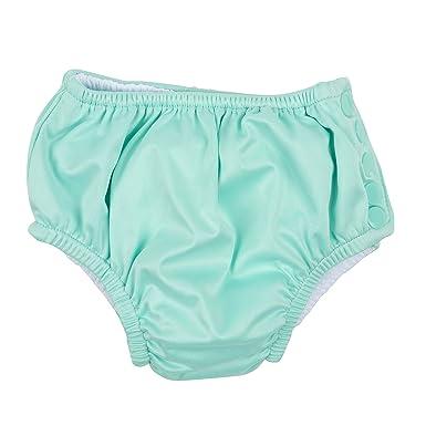 ef34110bc8 Leveret Kids Baby Boys Girls Reusable Absorbent Swim Diaper UPF 50+ Aqua  Size 2 Toddler