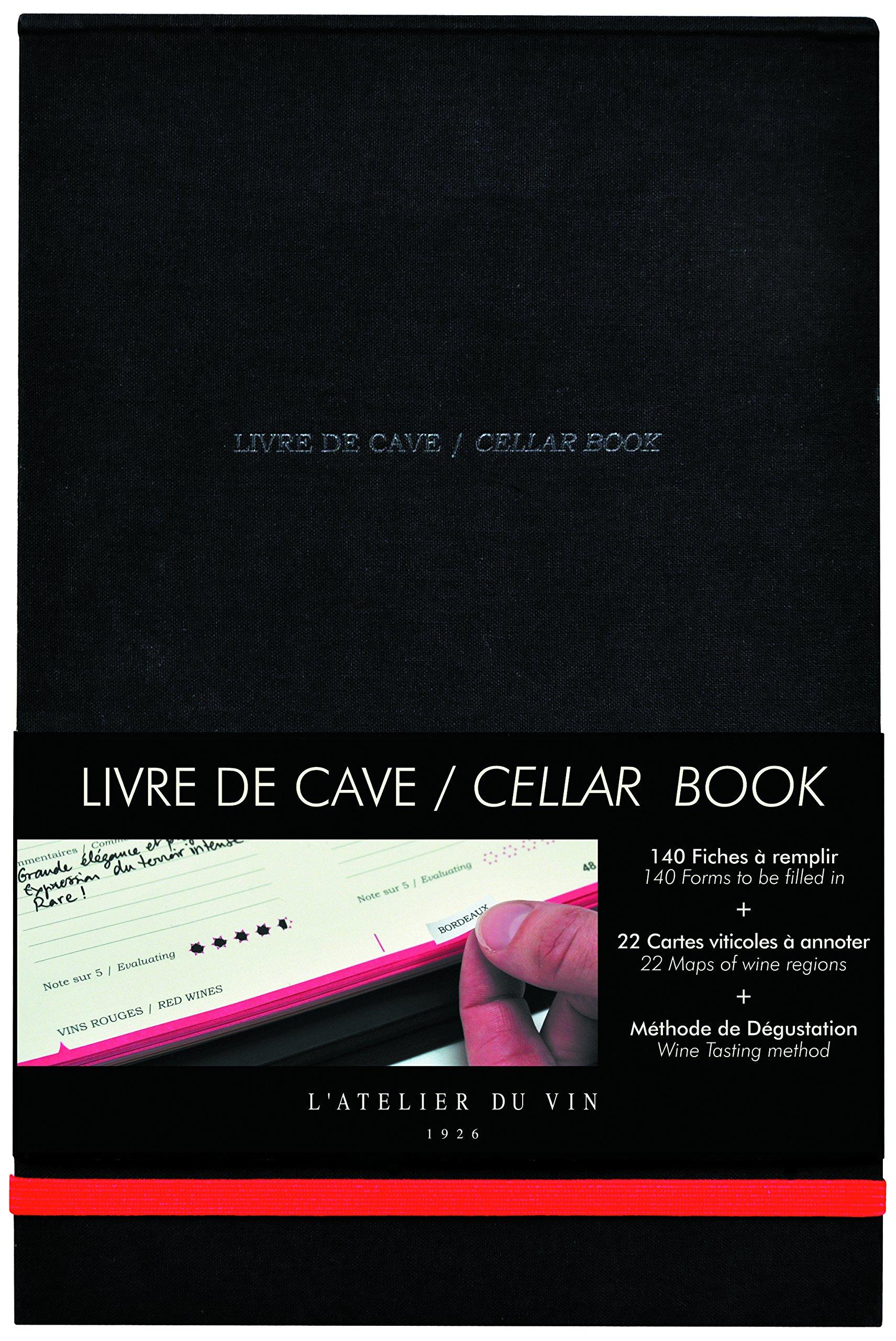 L'Atelier du Vin Cellar'S Book-English/French