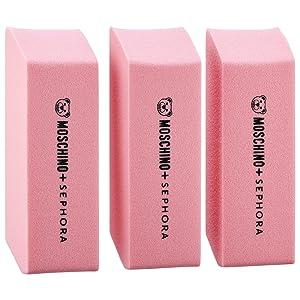 SEPHORA COLLECTION MOSCHINO + SEPHORA Eraser Sponges, Limited Edition