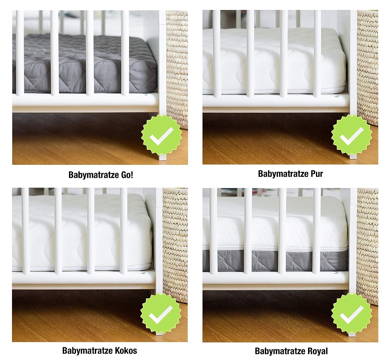 Ehrenkind/® Babymatratze Pur Babymatratze 60x120cm Matratze 120x60 aus hochwertigem Schaum und Hygienebezug