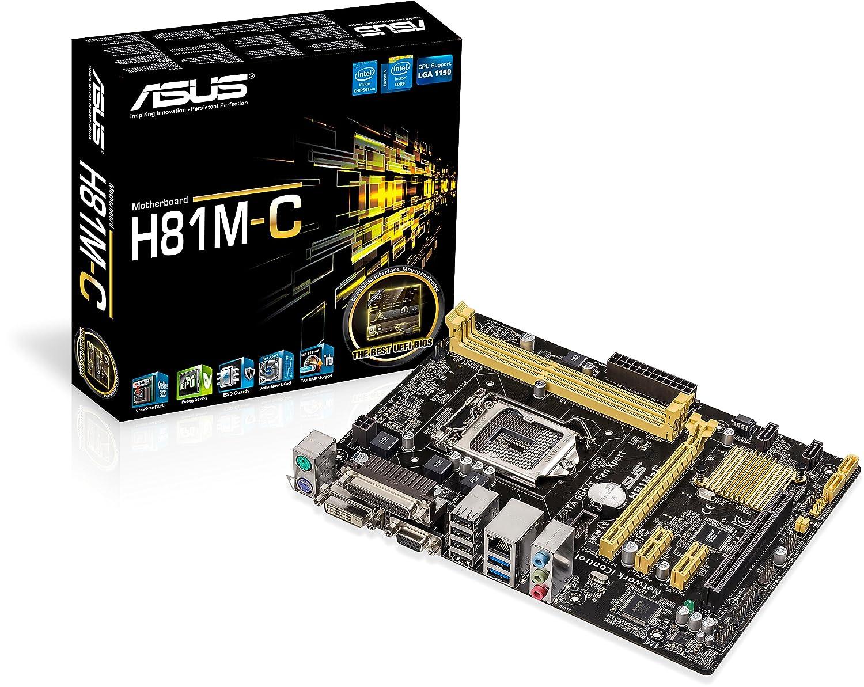 Asus FBA_90MB0GT0-M0EAY0 H81M-C 16 GB DDR3 PCI Express Motherboard