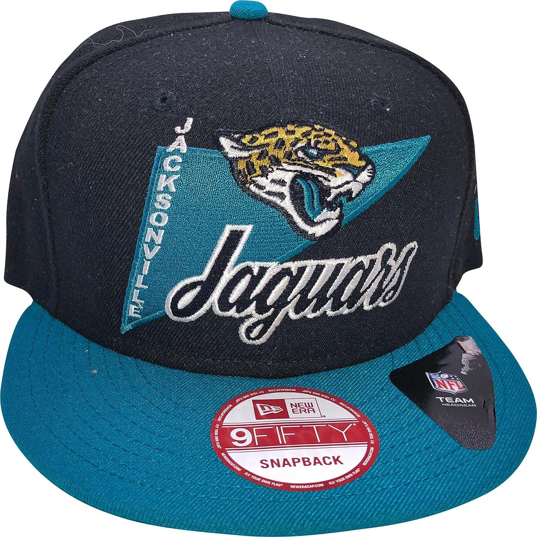 a6df78faca7ad6 Amazon.com : New Era Jacksonville Jaguars 9FIFTY Adjustable Snapback Hat :  Sports & Outdoors